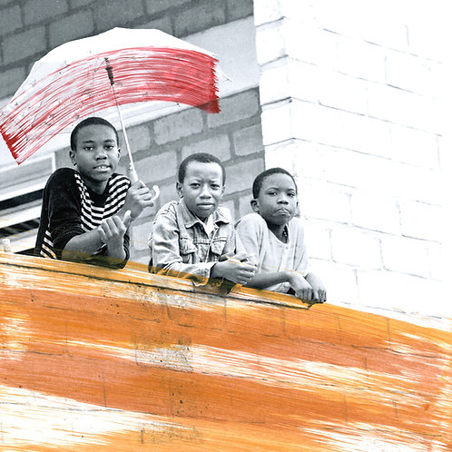 'Africa Rain' Limited Edition Print