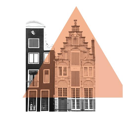 Amsterdam #9. Limited Edition Digital Art