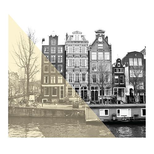 Amsterdam #12. Limited Edition Digital Art