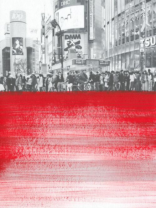 Crimson Calm' Limited Edition Print