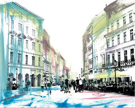 'Krakow' Limited Edition Print