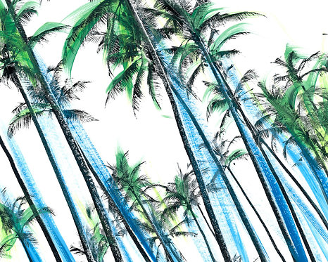 Palm Trees Forever' Limited Edition Print