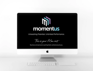 Momentus Home page web design