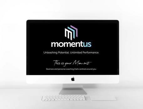 Momentus Home page web design
