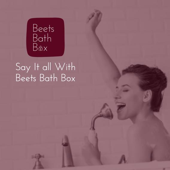 Beets Bathroom Bath Box