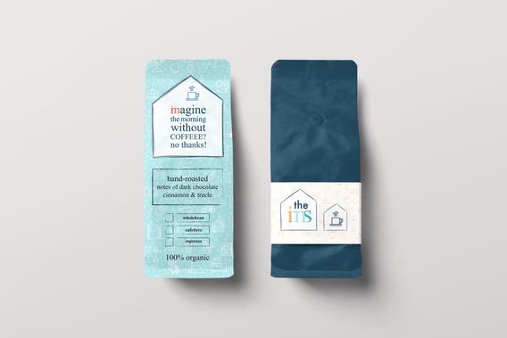 Coffee Bag design - the ims
