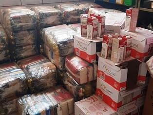 Prefeitura aumenta 71.43% das distribuições de cestas básicas do município de Angélica
