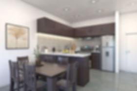 surf ranch apartment kitchen