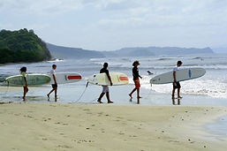 surf lessons in san juan del sur nicaragua at the surf ranch hotel and resort