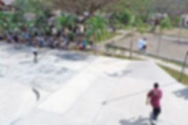 Surf Ranch Skateboard Park in Nicaragua