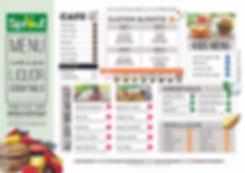 spout tamarindo costa rica menu