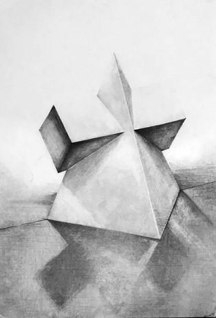 デッサン 幾何形体1