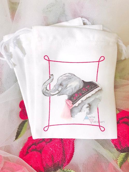 巾着 Elephant