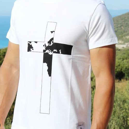 """T-shirt Homme """" Croce """" 