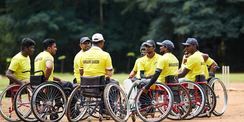 The Karnataka Wheelchair Cricket Premier League