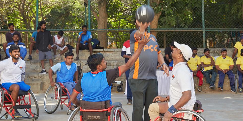 South zone wheelchair Basketball tournament