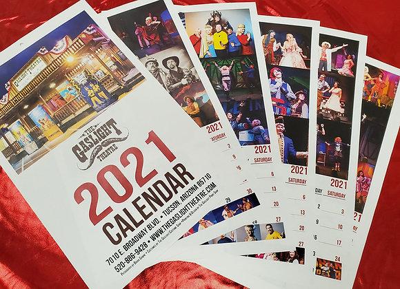 2021 Gaslight Calendar