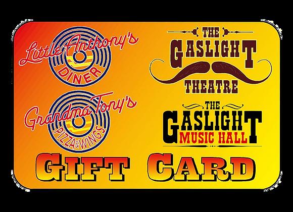 Gaslight Gift Card