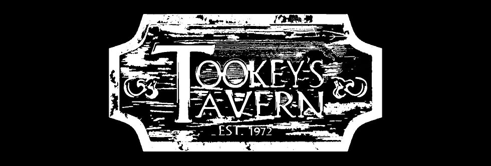All White Tookey's Tavern Tee's