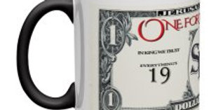One for the Road Dollar Baby Mug