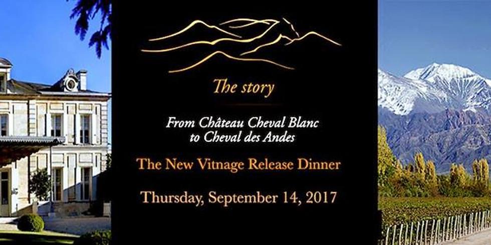 Cheval des Andes New Vintage Release Wine Dinner