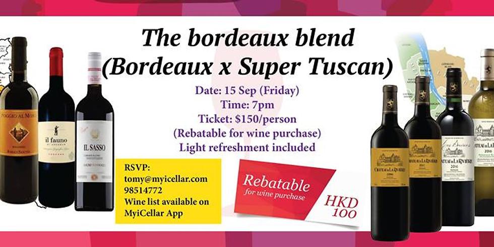The Bordeaux Blend Tasting