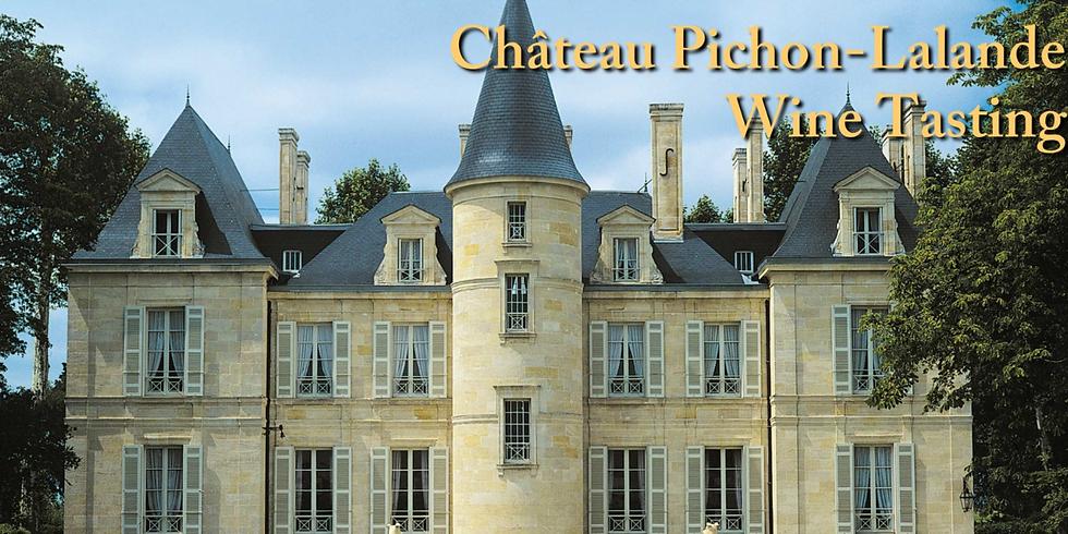 Pichon-Lalande Wine Tasting