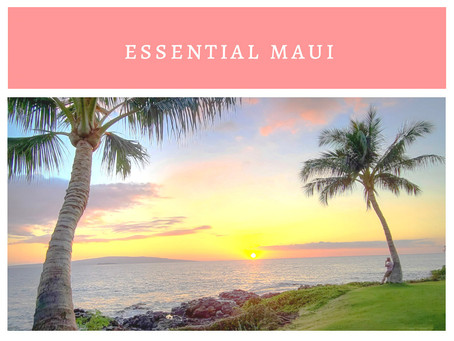 Crafting a Maui Itinerary