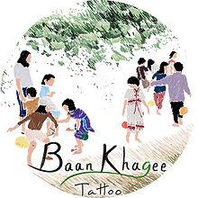 Baan Khagee Tattoo Chiang Mai logo updat