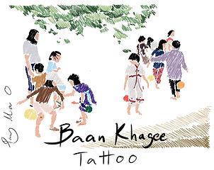 Baan Khagee Tattoo Chiang Mai logo