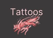 Tattoo artwork at Baan Khagee Tattoo Chiang Mai, Thailand