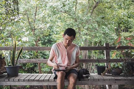 Best blackwork tattoo artist in Chiang Mai, Thailand