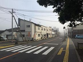 เช้าอันเงียบสงบที่เมืองยูฟุอิน ประเทศญี่ปุ่น