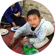 Kid at Pang Ma O village