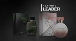 Bachellor Cosméticos   Lançamento Perfumes Leader