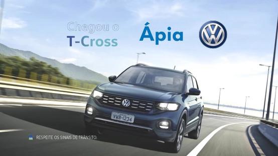 Ápia Veículos   VT TV Lançamento T-Cross
