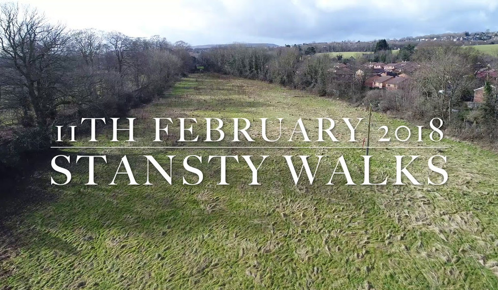 Fly-Over of Stansty Walks February 2018