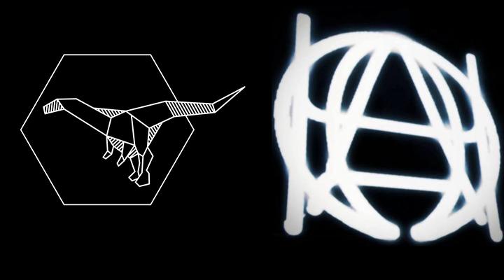 aardonyx (left), Arcade Haze (right)