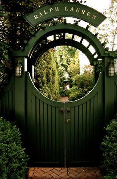 Ralph Lauren garden arbour
