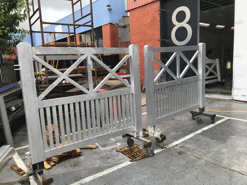 Custom design for Wonga Park double gate