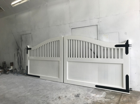 Custom double gate - New design
