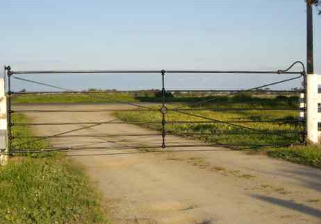 Cast Joint Single Farm Gate