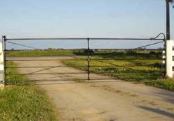 Cast Joint Single Farm Gate