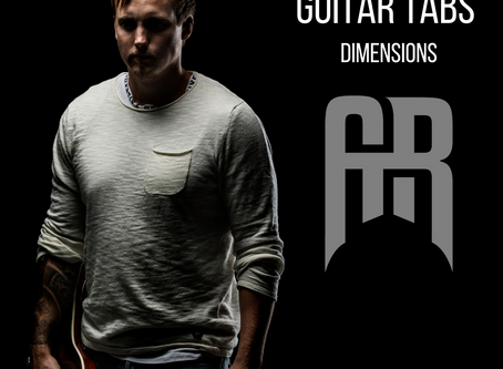 Dimensions Guitar tabs!