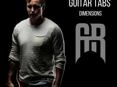 Dimensions Guitar tabs!