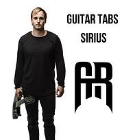 Guitar tabs Sirius.png