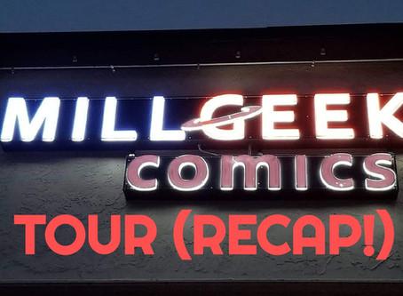 Mill Geek Comics SHOP TOUR!