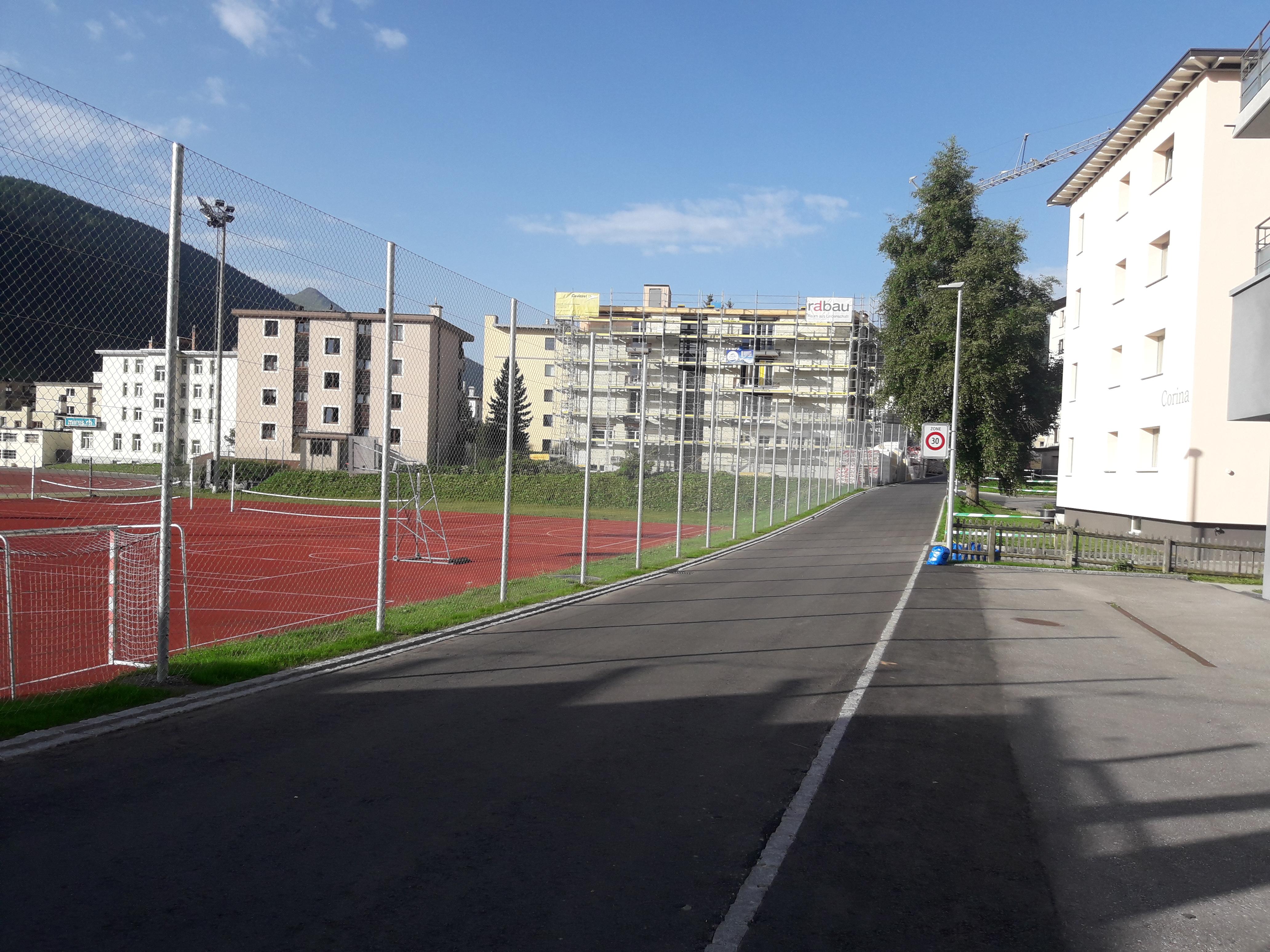 Ballfang an der Vaillant Arena
