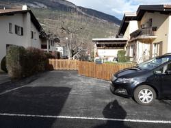 Staketenzaun in Chur (GR) Dezember20