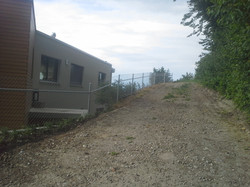 Diagonalgeflechtzaun  in Steckborn (